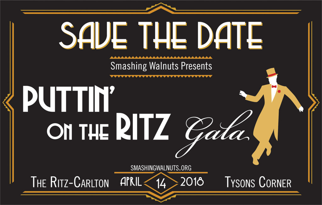 smashing walnuts Gala event